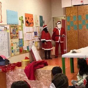 Santa´s visit in Kindergarten